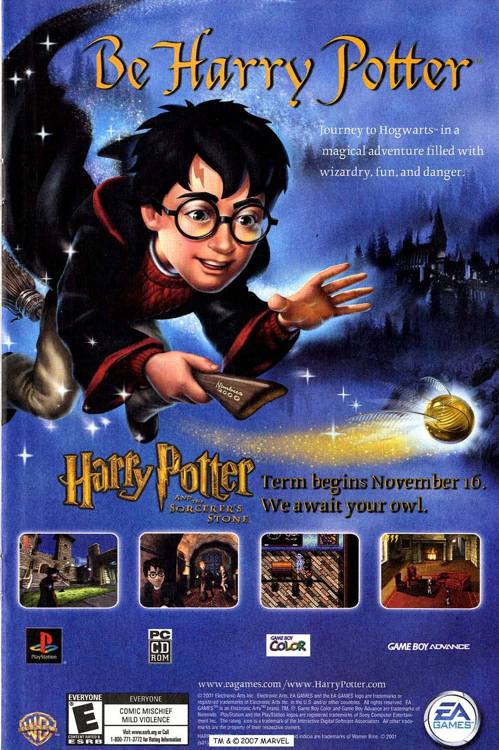 Harry Potter and the Sorcerer's Stone Game Download