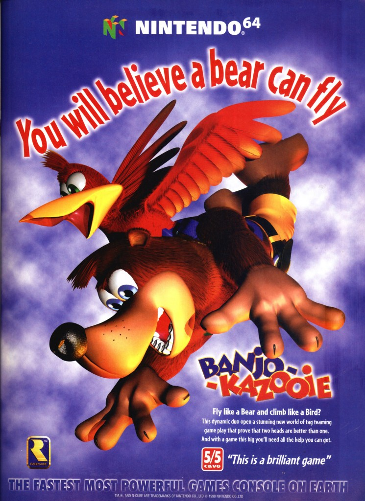 Banjo Kazooie UK