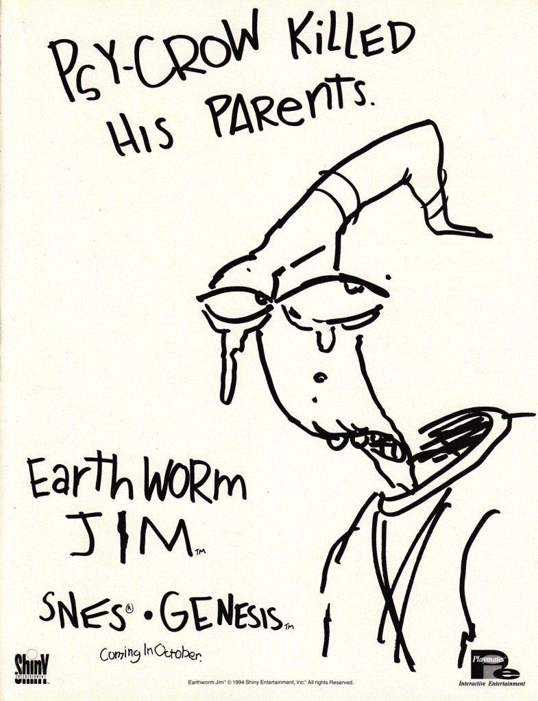 Earthworm Jim Sad