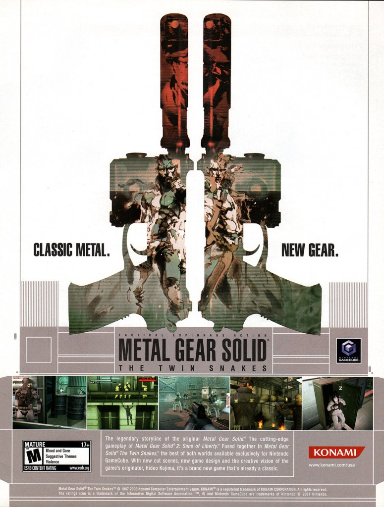 Metal Gear Solid The Twin Snakes USA