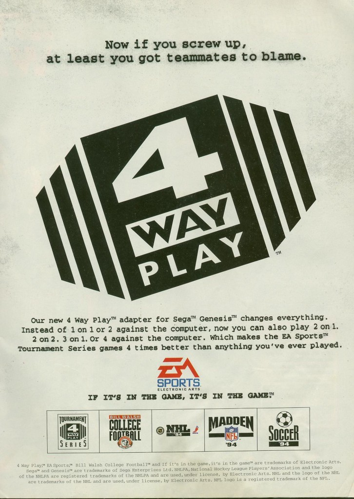 EA 4 Way Play