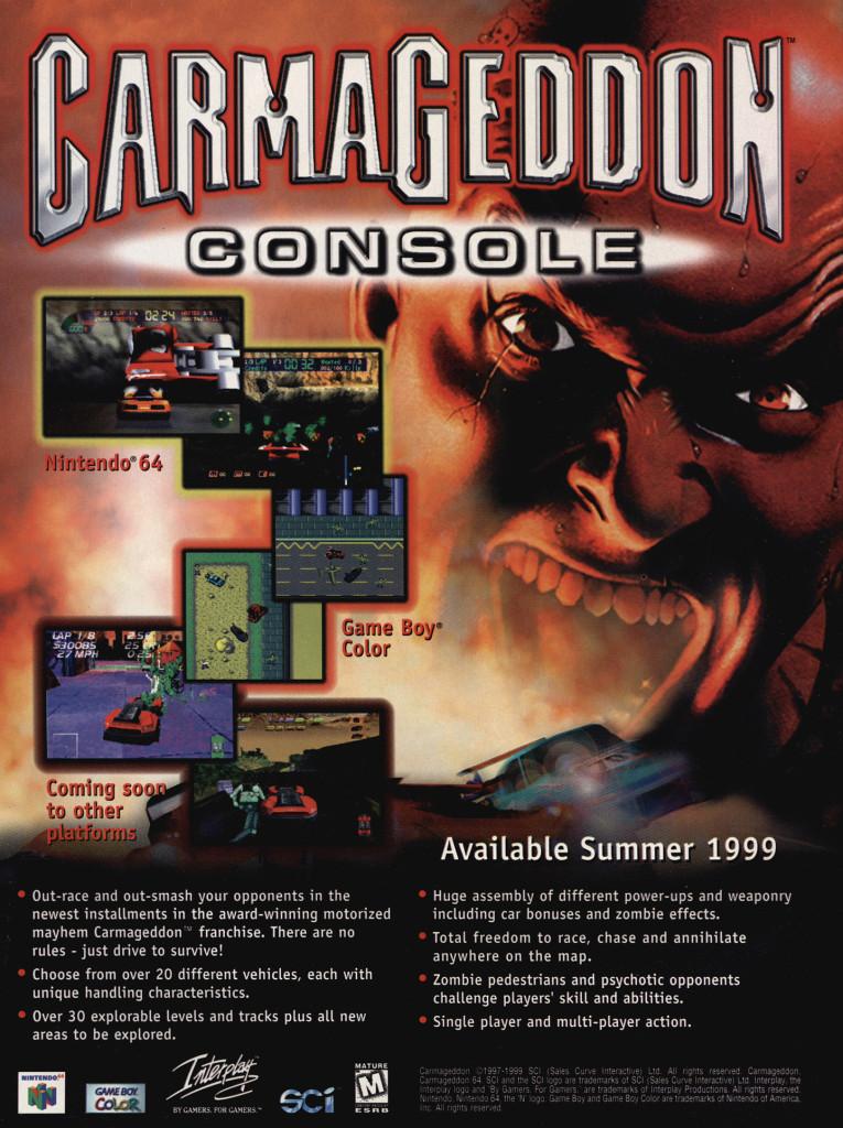 Carmageddon Console