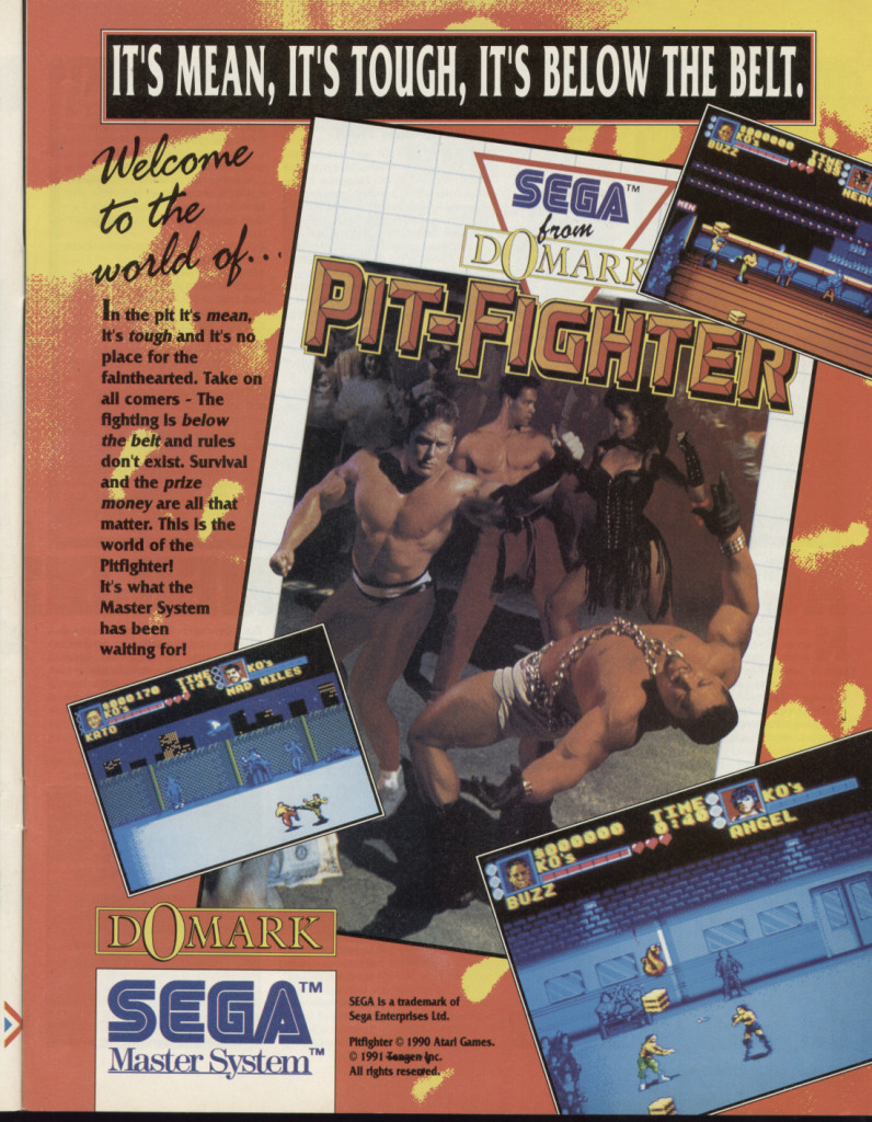 Pit Fighter SMS UK