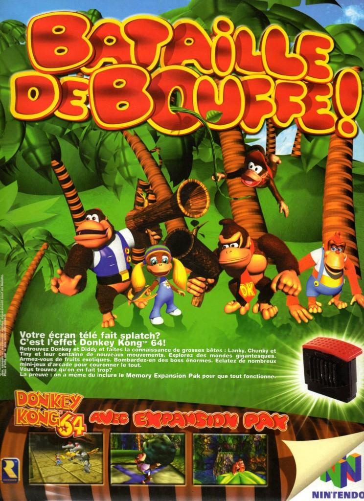 Donkey Kong 64 FRA