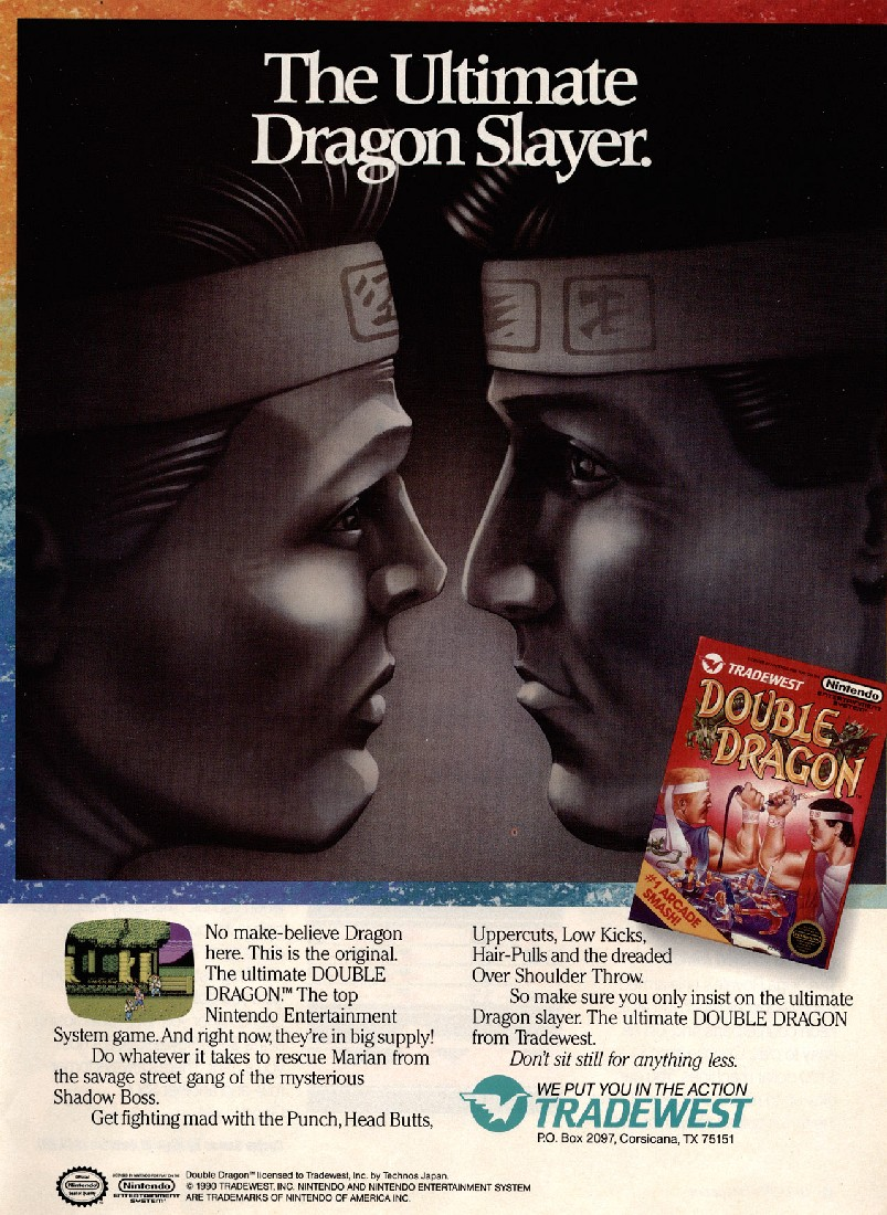 Tag Archives Double Dragon