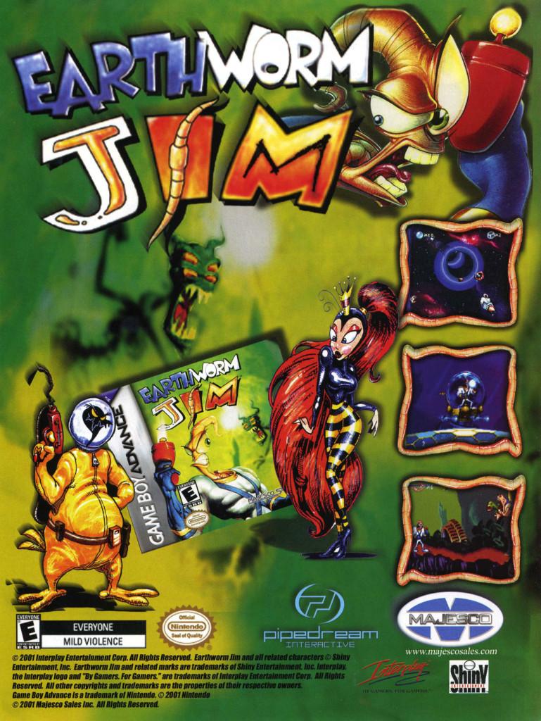 Earthworm Jim Advance
