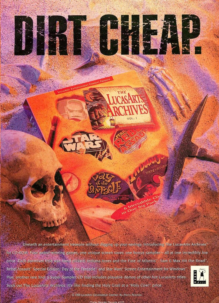 Lucasarts Archives Vol 1