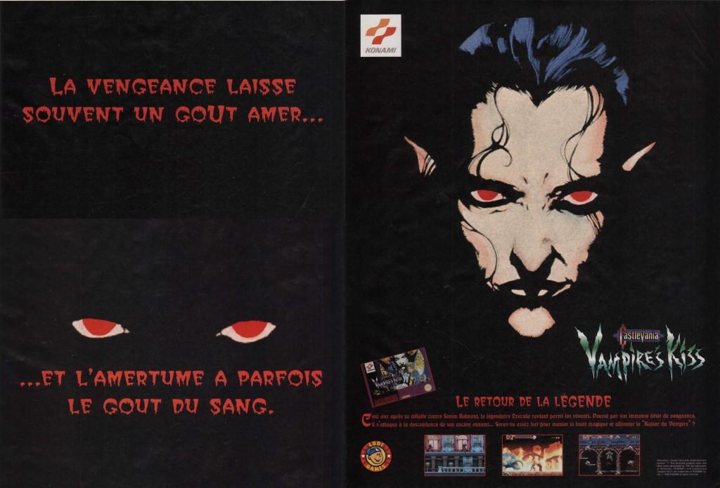 Castlevania X Vampire's Kiss FRA-1