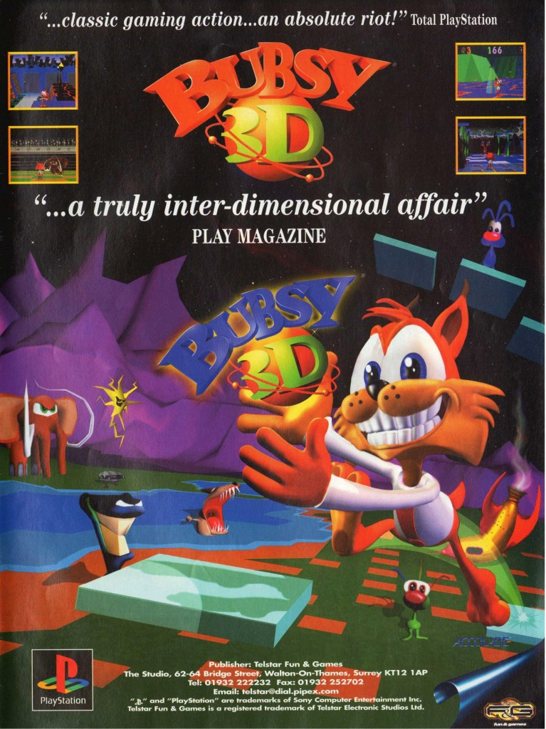 Bubsy 3D UK